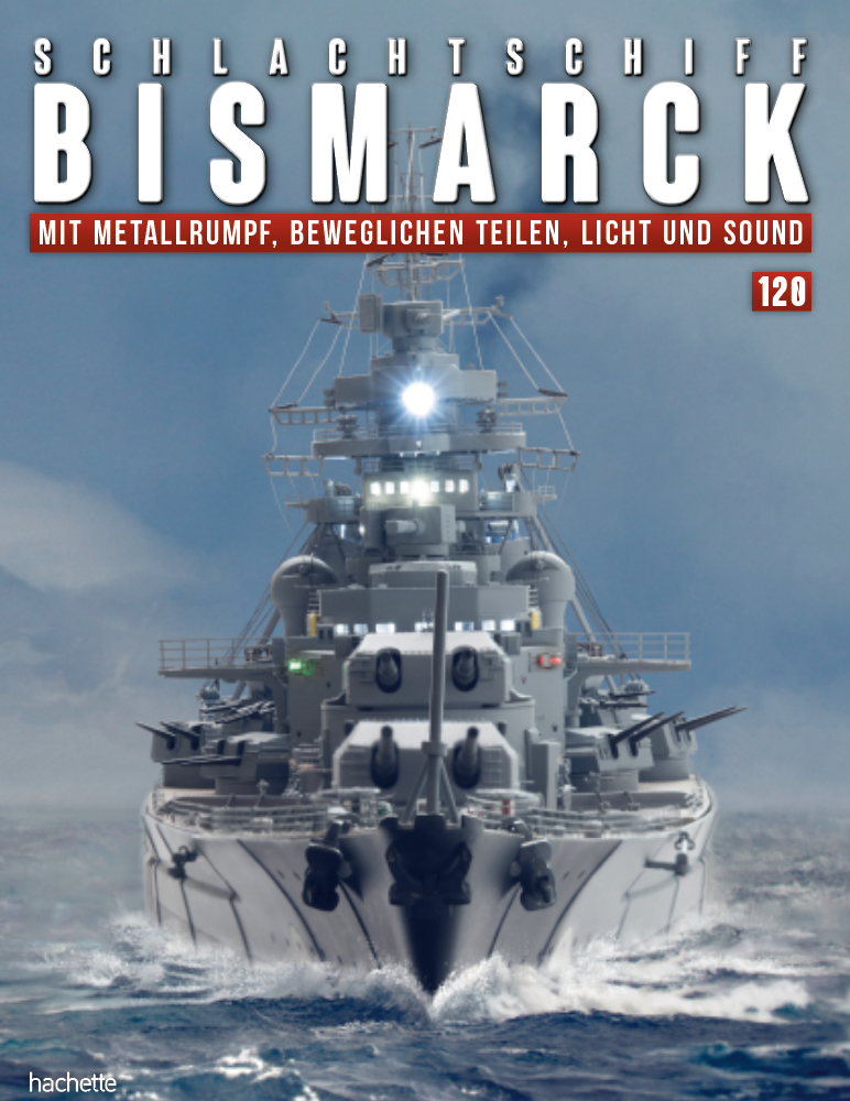 Schlachtschiff Bismarck – Ausgabe 120