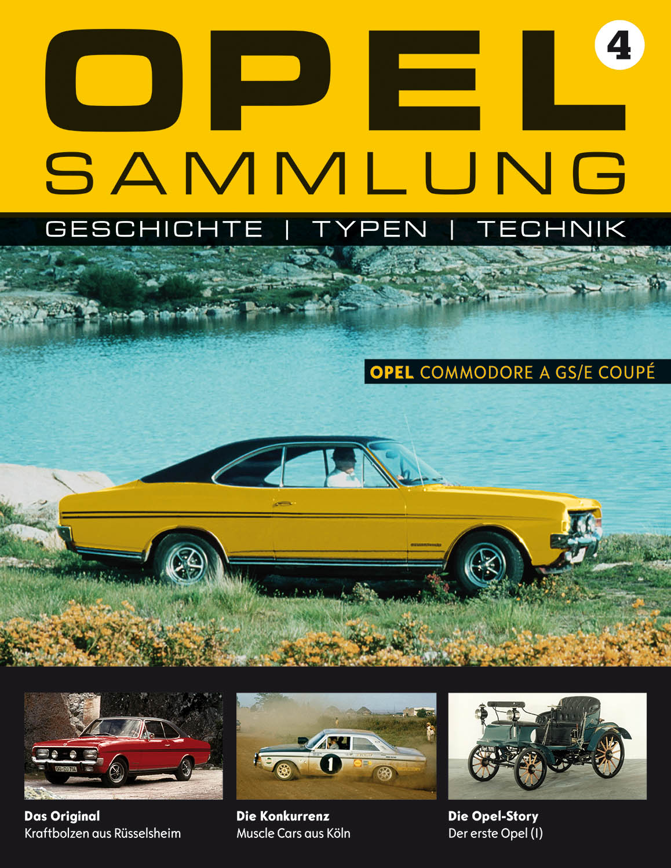 Opel-Sammlung – Ausgabe 04