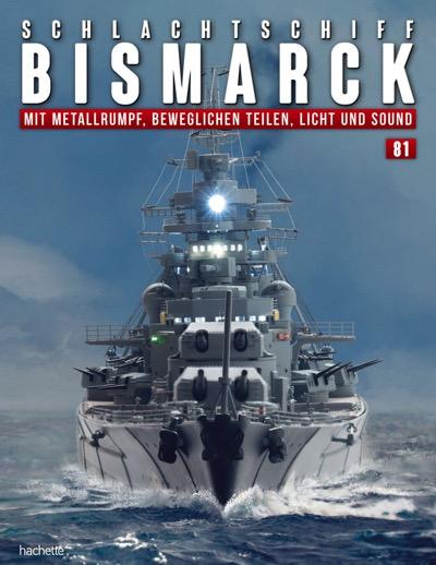 Schlachtschiff Bismarck – Ausgabe 081