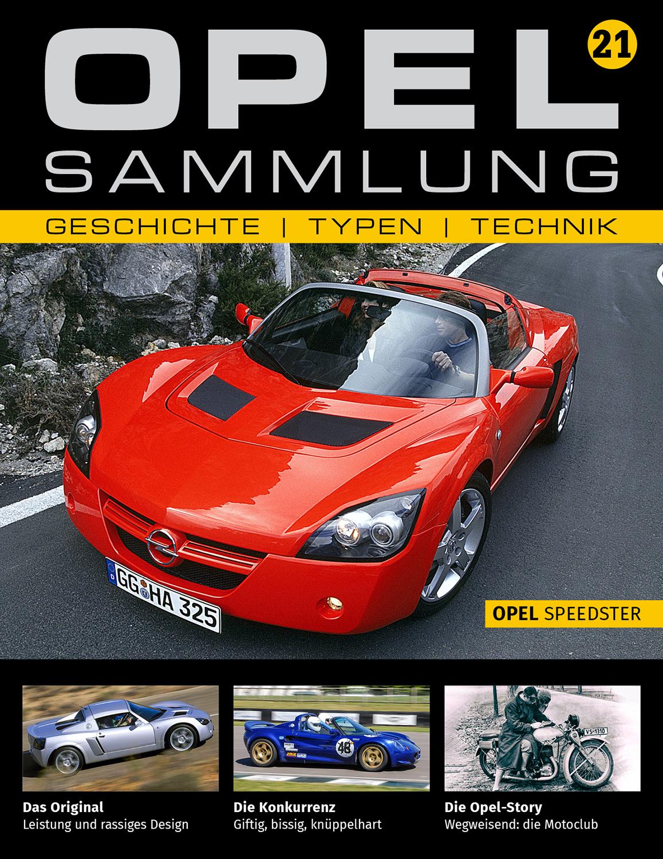 Opel-Sammlung – Ausgabe 21