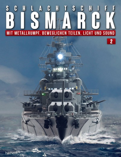Schlachtschiff Bismarck – Ausgabe 002