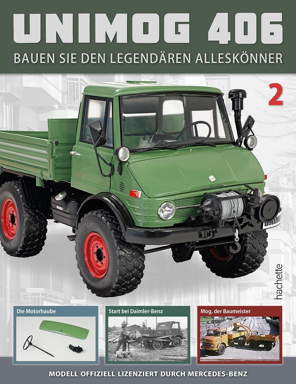 Unimog 406 – Ausgabe 002