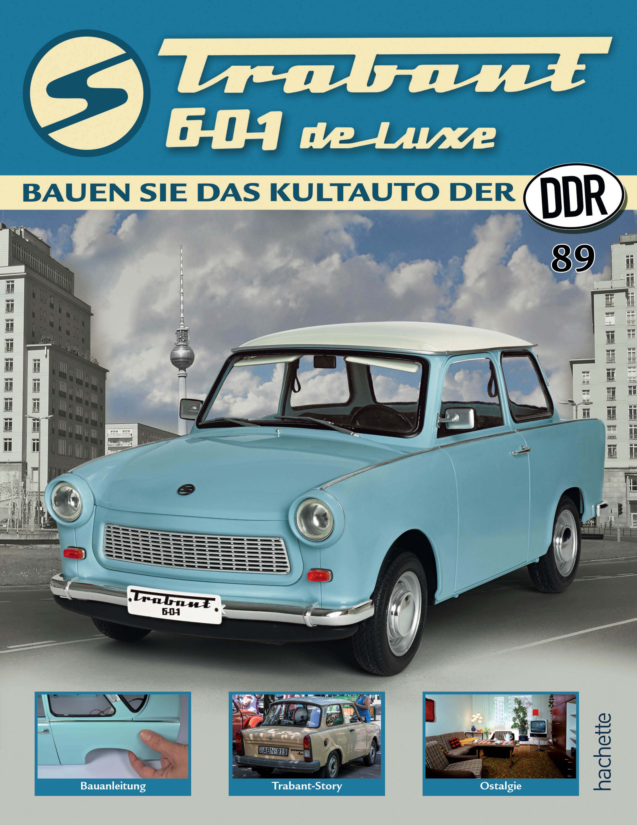 Trabant 601 de luxe – Ausgabe 089