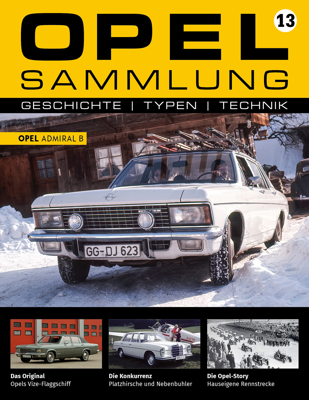 Opel-Sammlung – Ausgabe 13
