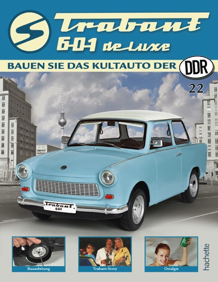Trabant 601 de luxe – Ausgabe 022