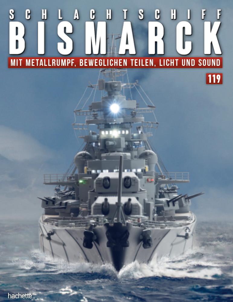 Schlachtschiff Bismarck – Ausgabe 119