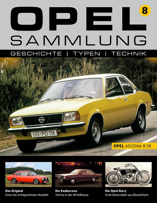 Opel-Sammlung – Ausgabe 08