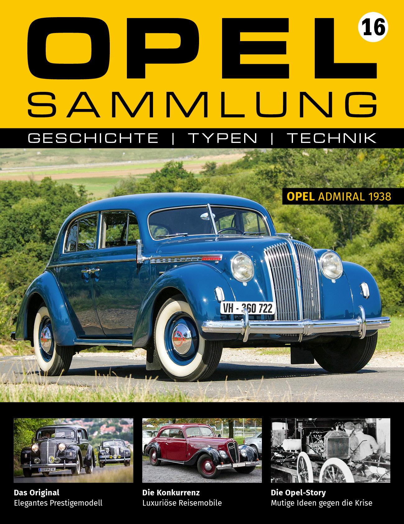 Opel-Sammlung – Ausgabe 16