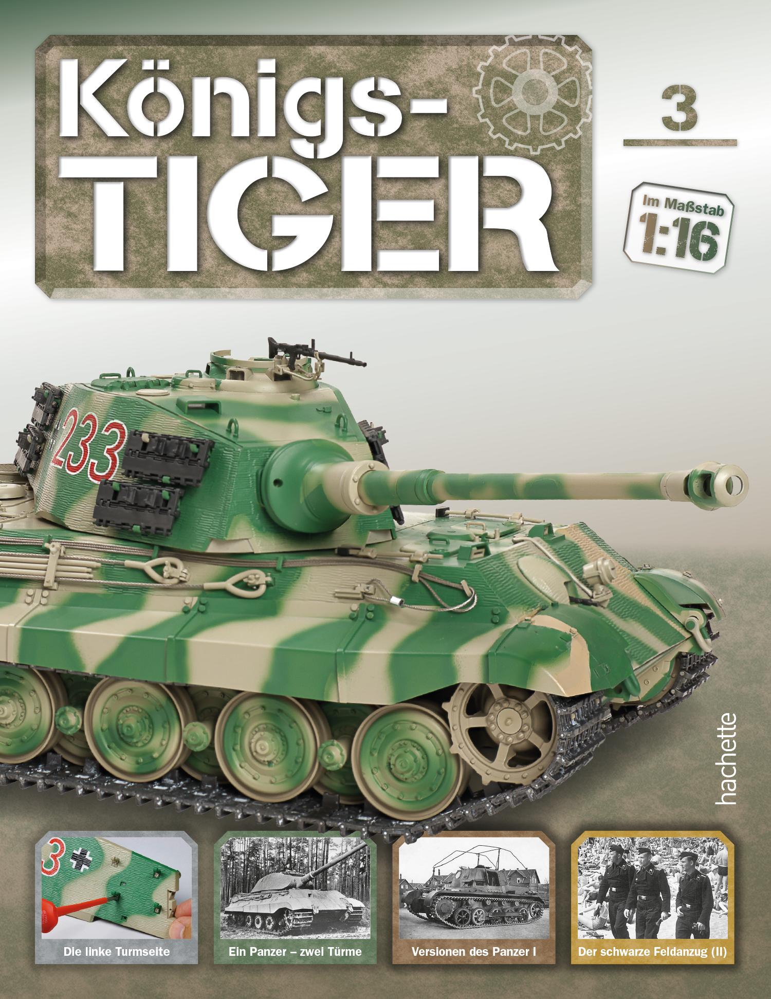 Königstiger – Ausgabe 003