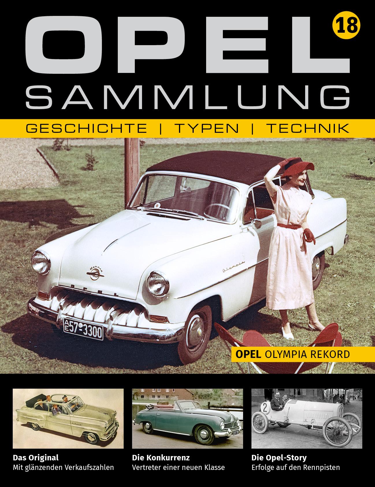 Opel-Sammlung – Ausgabe 18