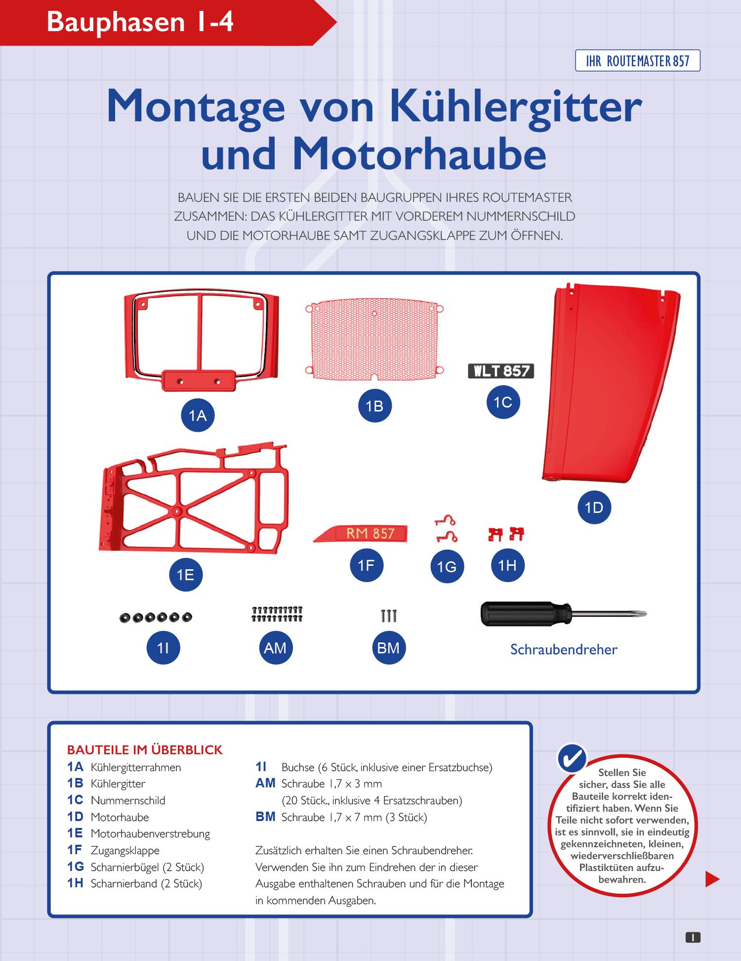Routemaster – Lieferung 01