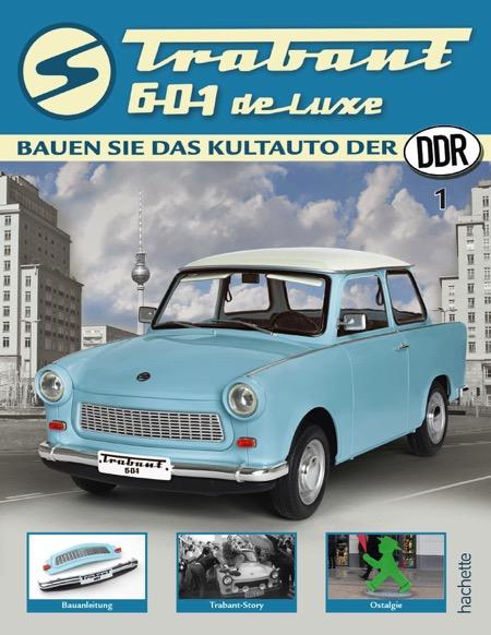 Trabant 601 de luxe – Ausgabe 001