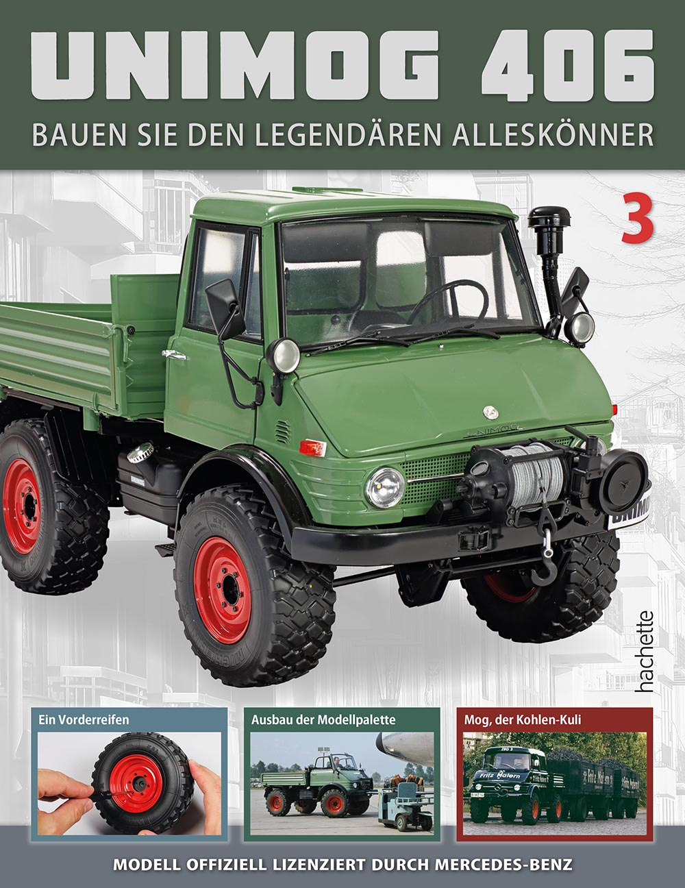 Unimog 406 – Ausgabe 003